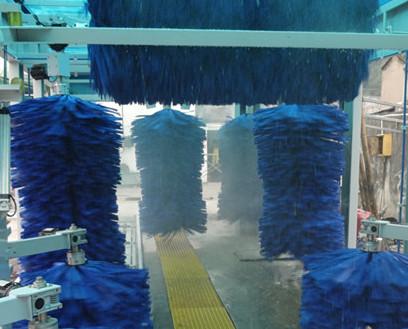 隧道洗车机-(欧标)洗车机毛刷材质 实心无孔 不沾泥沙  不伤车漆