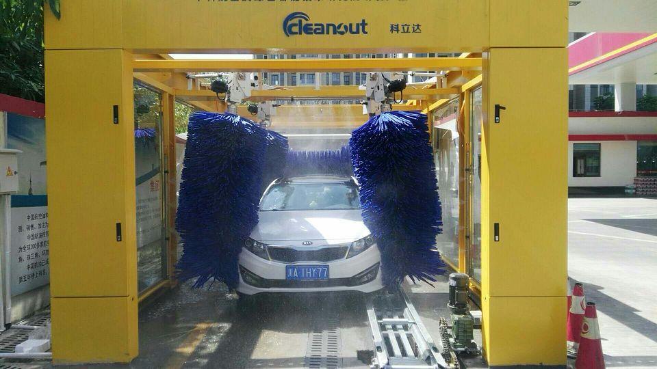 科立达智能洗车机---外型美观,高效快捷、环保节能、安全可靠
